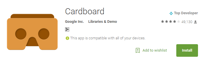 Cardboard – Android Apps on Google Play