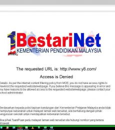 Cara Membuka Sekatan Internet 1BestariNet KPM